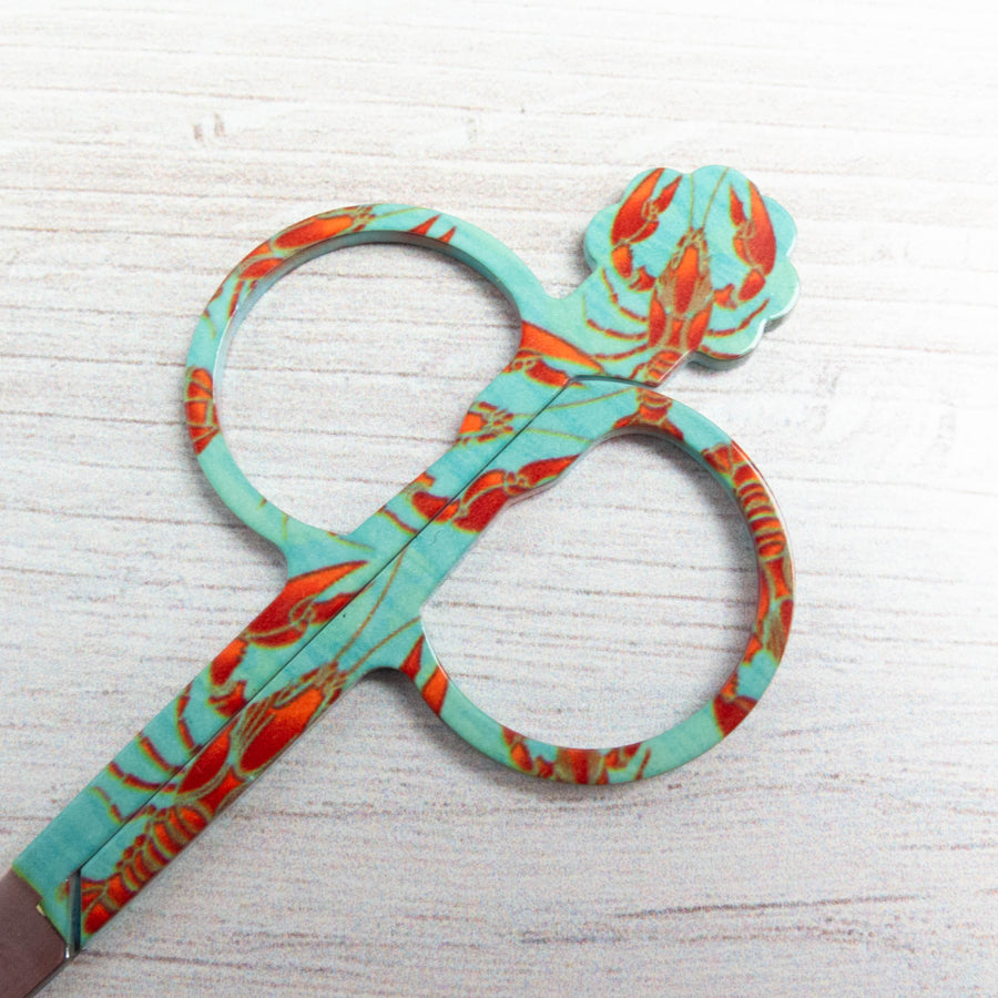 Bohin Embroidery Scissors - Lobster Scissors - Snuggly Monkey