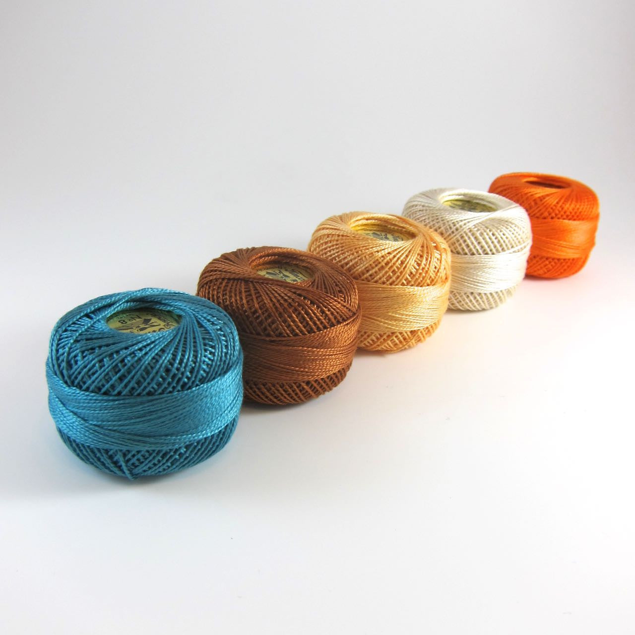 Bright Fall Pearl Cotton Thread Collection Perle Cotton - Snuggly Monkey