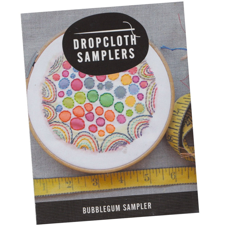 Dropcloth Embroidery Samplers :: Bubblegum Sampler Patterns - Snuggly Monkey
