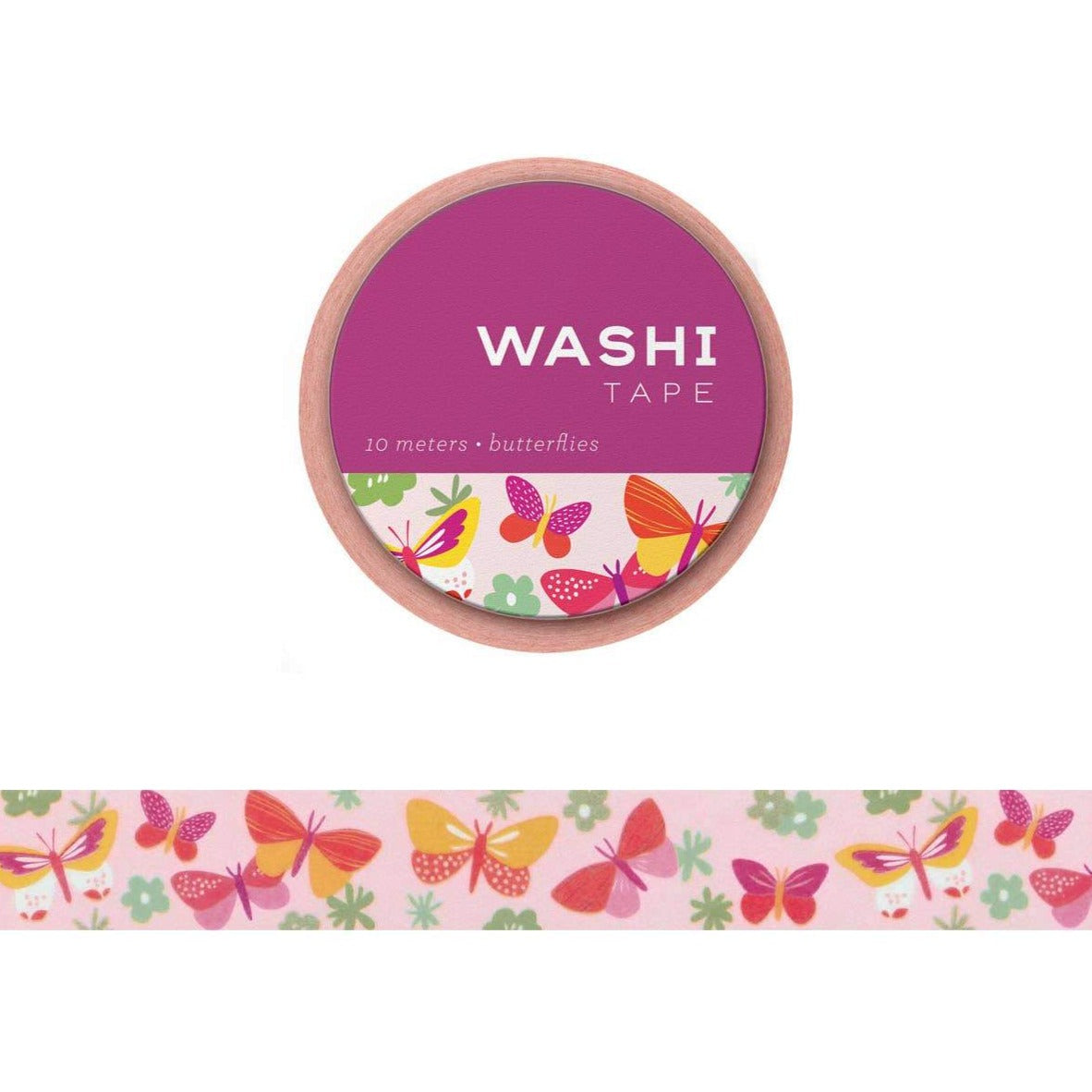 Girl of All Work Washi Tape - Butterflies