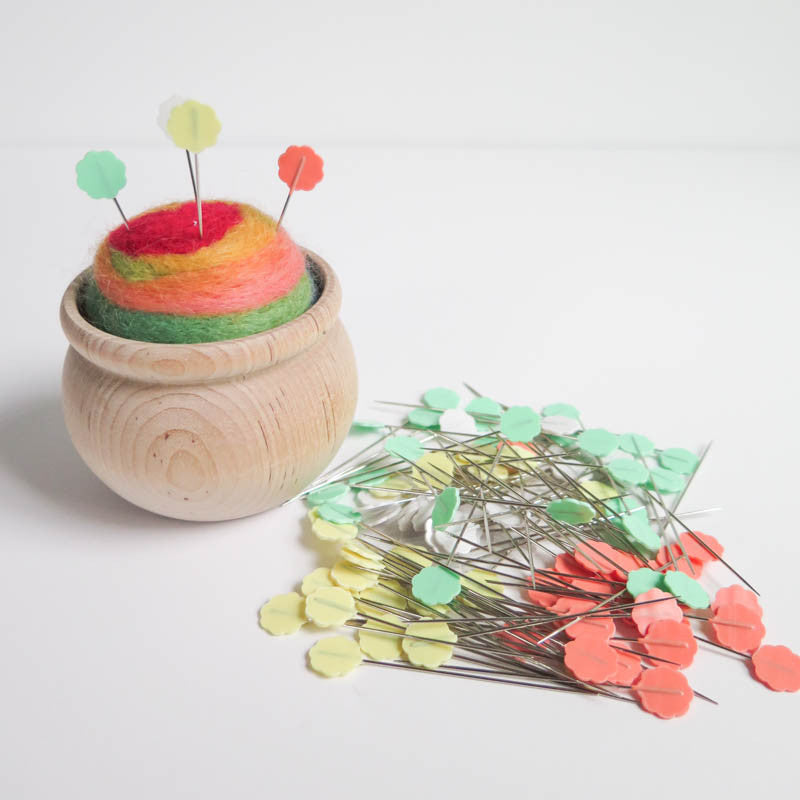 Flower Head Pins by Clover Notions - Snuggly Monkey