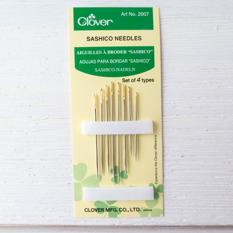 Clover Sashiko Needles (Assorted Sizes) Needles - Snuggly Monkey