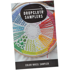 Dropcloth Embroidery Samplers :: Color Wheel Patterns - Snuggly Monkey