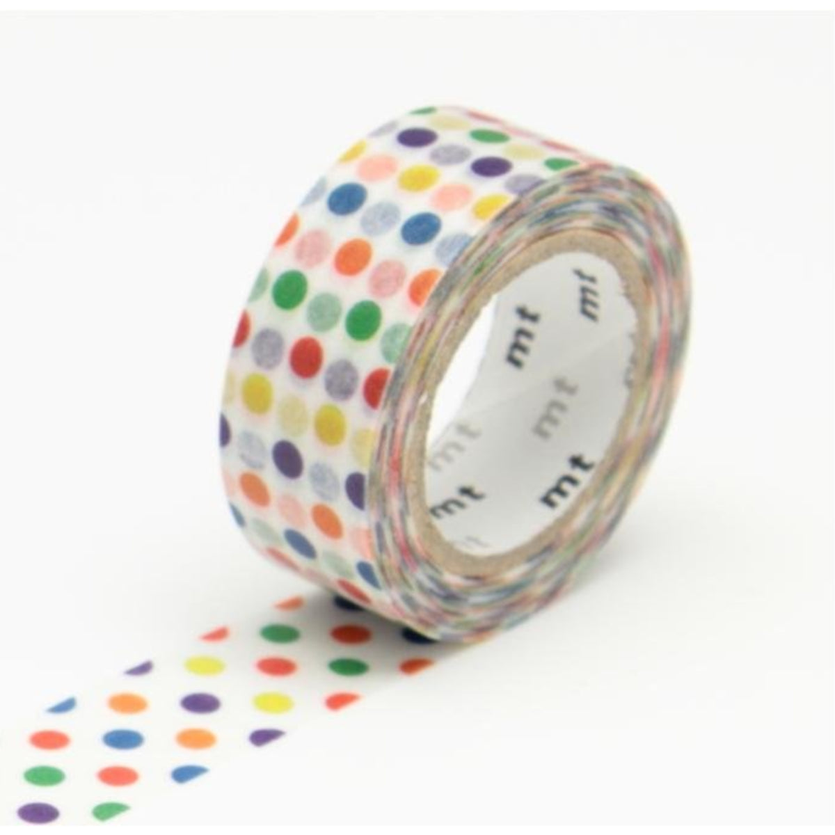 mt Washi Tape - Colorful Dots