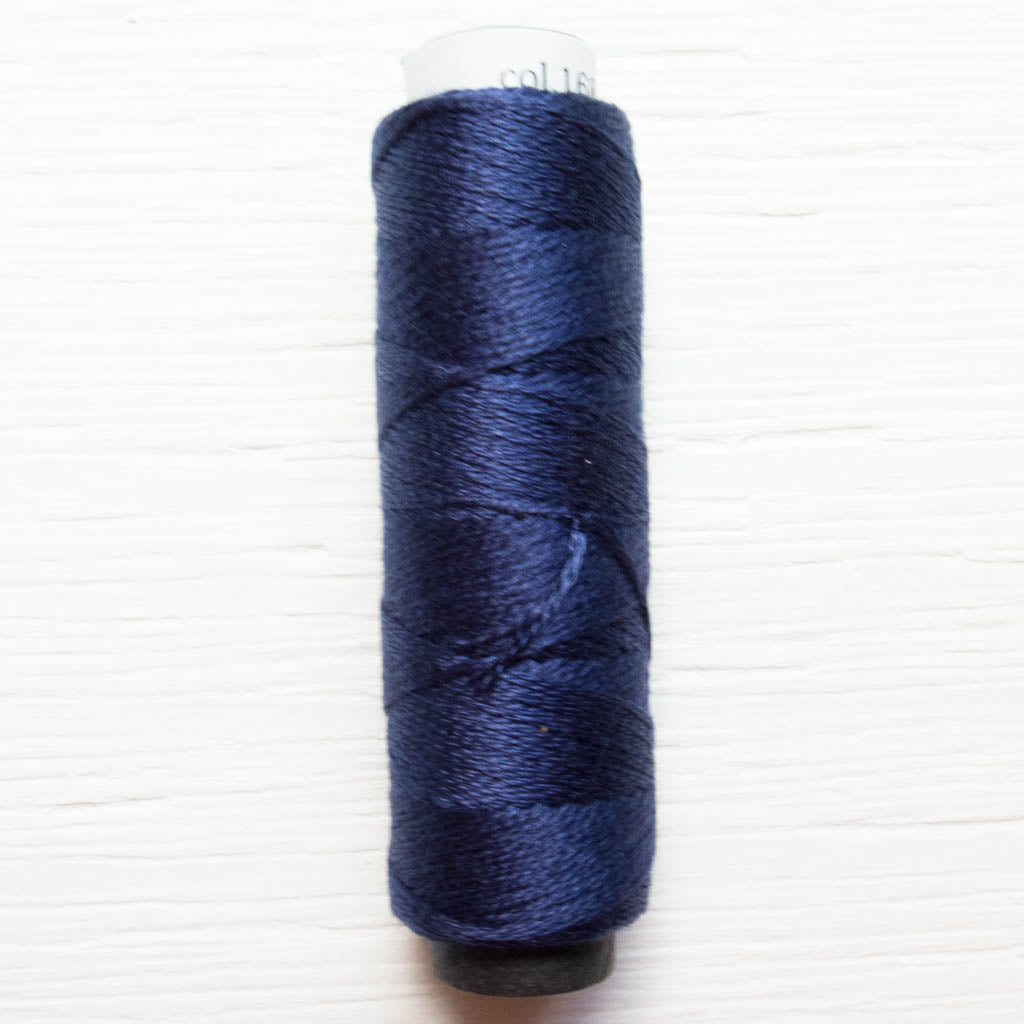 COSMO 3-Strand Embroidery Floss Spool - Navy (168) Floss - Snuggly Monkey