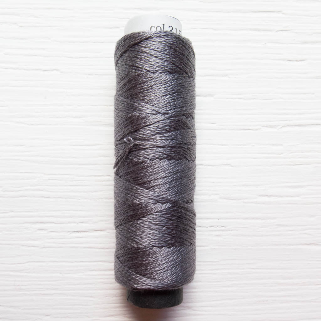 COSMO 3-Strand Embroidery Floss Spool - Gray (2154) Floss - Snuggly Monkey