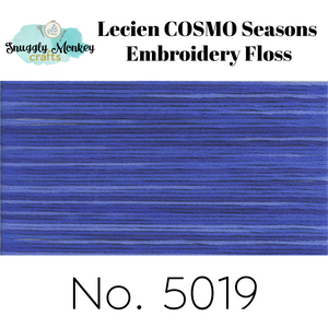 COSMO Seasons Variegated Embroidery Floss - 5016, 5017, 5018, 5019, 5020 Floss - Snuggly Monkey