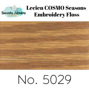 COSMO Seasons Variegated Embroidery Floss - 5026, 5027, 5028, 5029, 5030 Floss - Snuggly Monkey