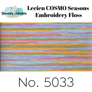 COSMO Seasons Variegated Embroidery Floss - 5031, 5032, 5033, 5034, 5035 Floss - Snuggly Monkey