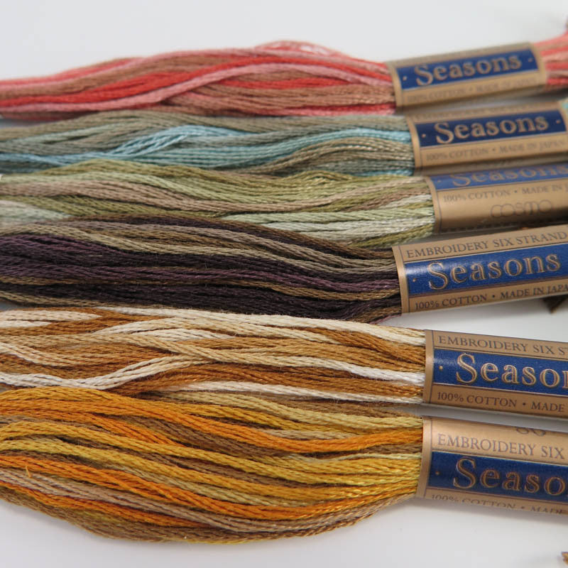 Cosmo Seasons Embroidery Floss Set