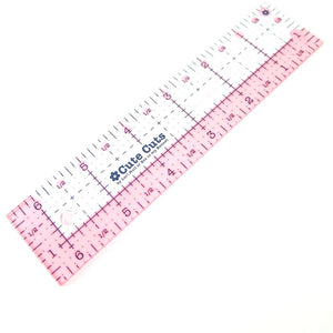 "Cute Cut Rectangle Ruler - 1.5"" x 6.5"" Notions - Snuggly Monkey"