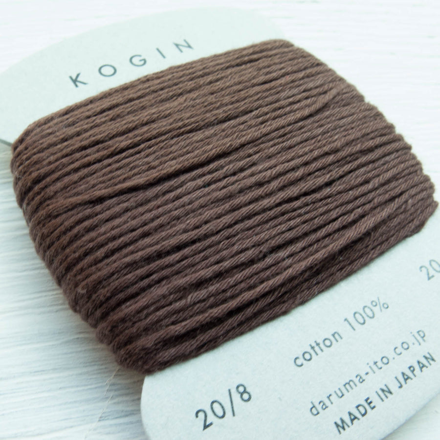 Daruma Kogin Sashiko Thread - Brown (no. 3) Sashiko - Snuggly Monkey