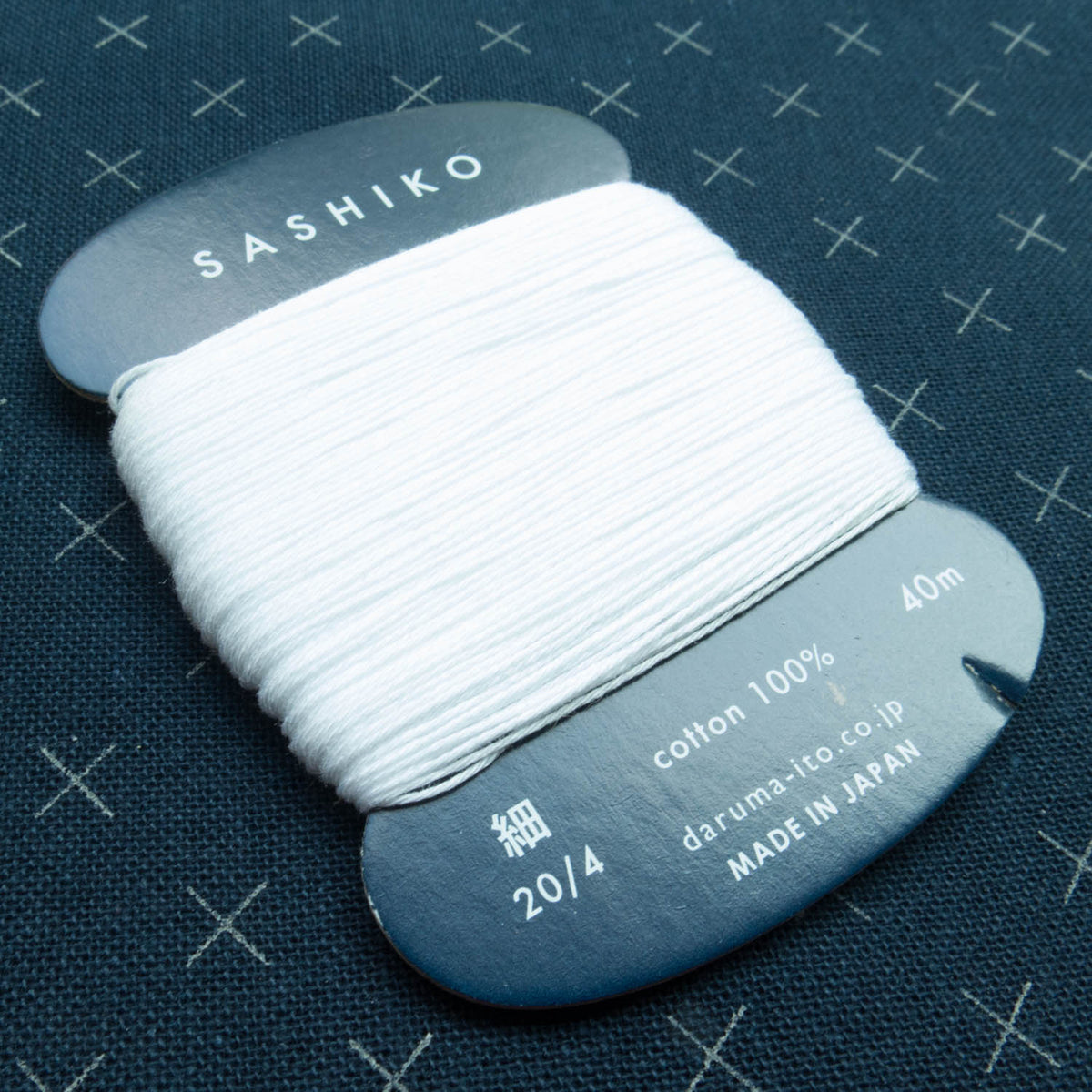 Daruma Carded Thin Sashiko Thread Collection Sashiko - Snuggly Monkey