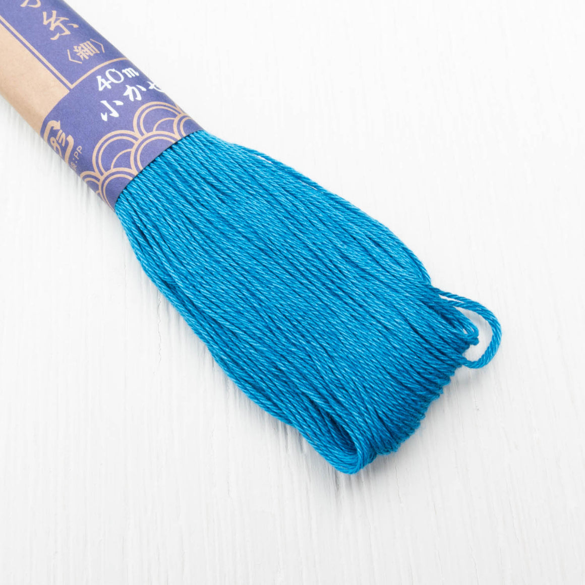Daruma Sashiko Thread - Denim Blue (#27) Sashiko - Snuggly Monkey