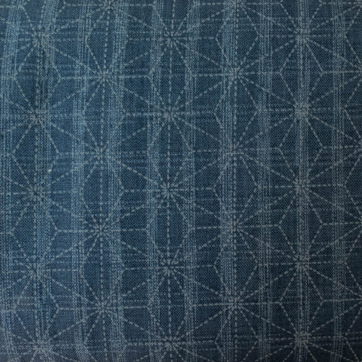 Sevenberry Nara Homespun :: Denim Hemp Leaf