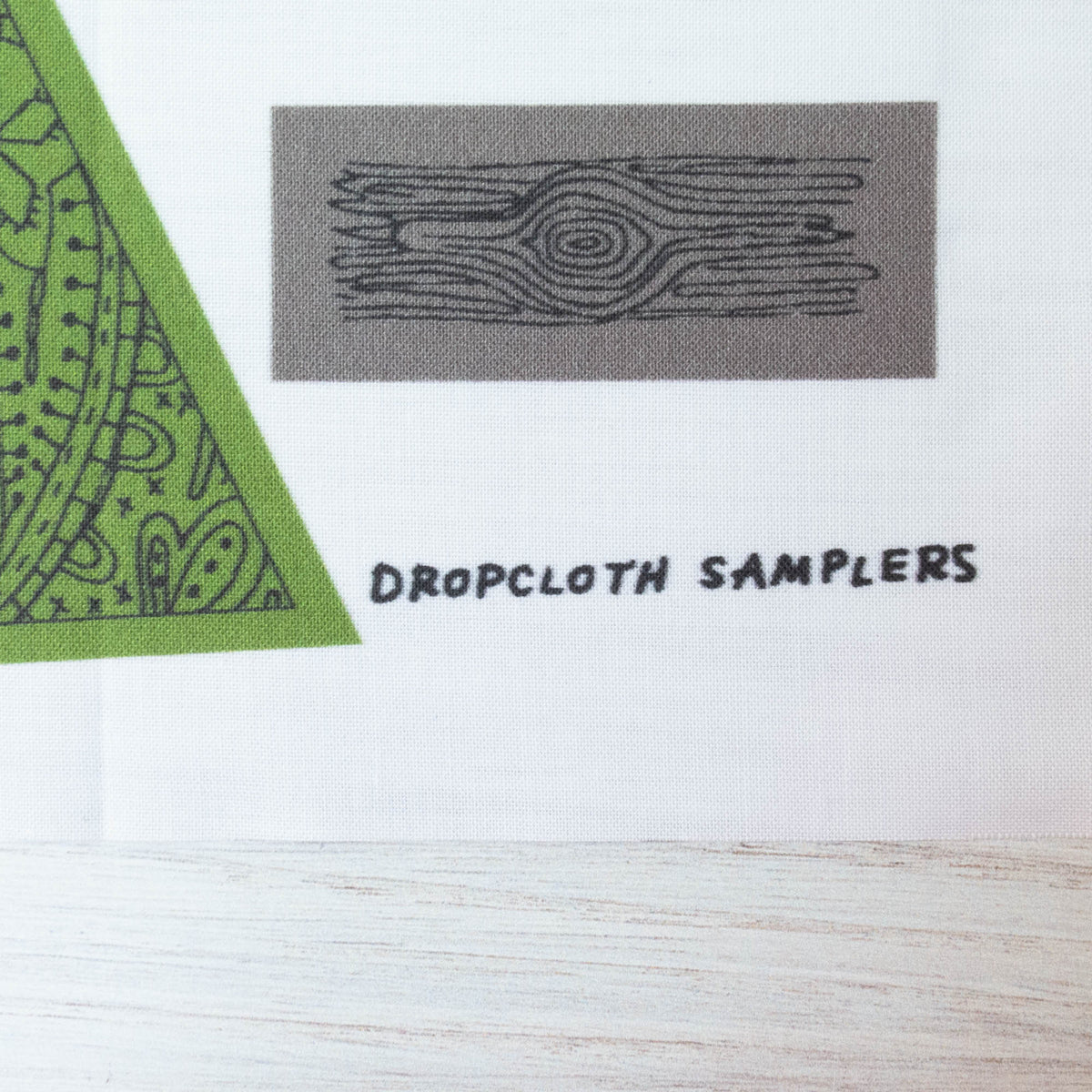 Dropcloth Embroidery Samplers :: Tree Ornaments