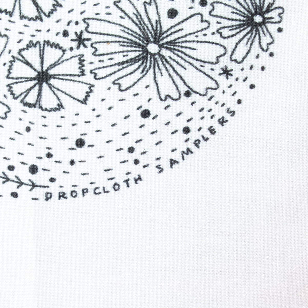 Dropcloth Embroidery Samplers :: Meadow Sampler