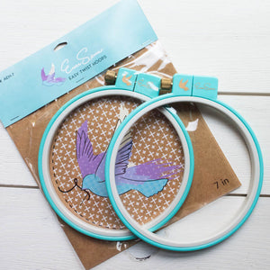 EverSewn 7 inch Easy Twist Embroidery Hoop