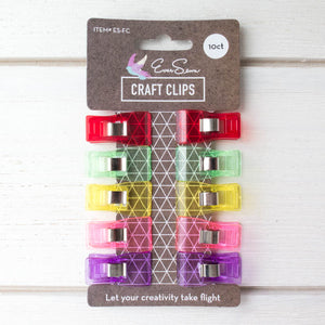EverSewn Fabric Clips (10 ct) Notions - Snuggly Monkey