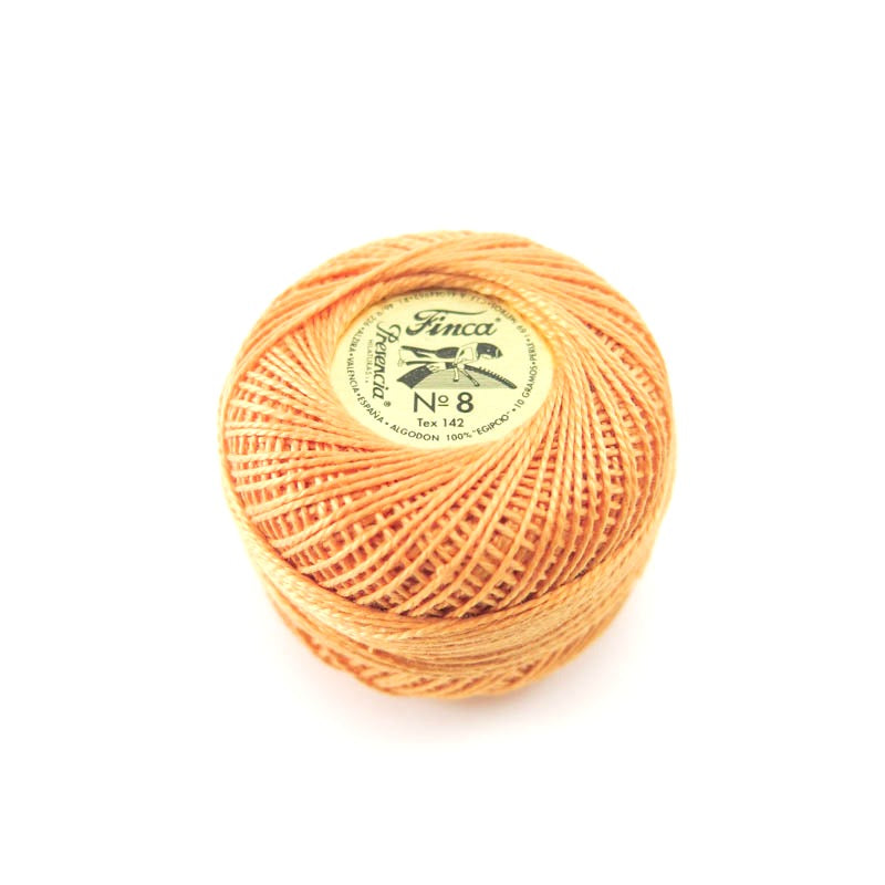 Presencia Finca Perle Cotton -Md Autumn Gold (7726) Perle Cotton - Snuggly Monkey