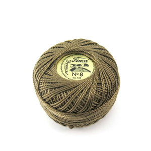 Presencia Finca Perle Cotton -Dark Green Brown (8327)