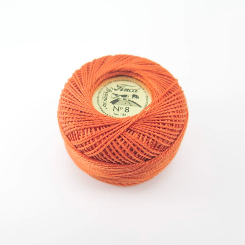 Presencia Finca Perle Cotton - Orange Spice (7567) Perle Cotton - Snuggly Monkey