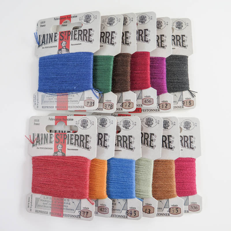 Laine St. Pierre Wool Thread Set - Autumn Colors Floss - Snuggly Monkey