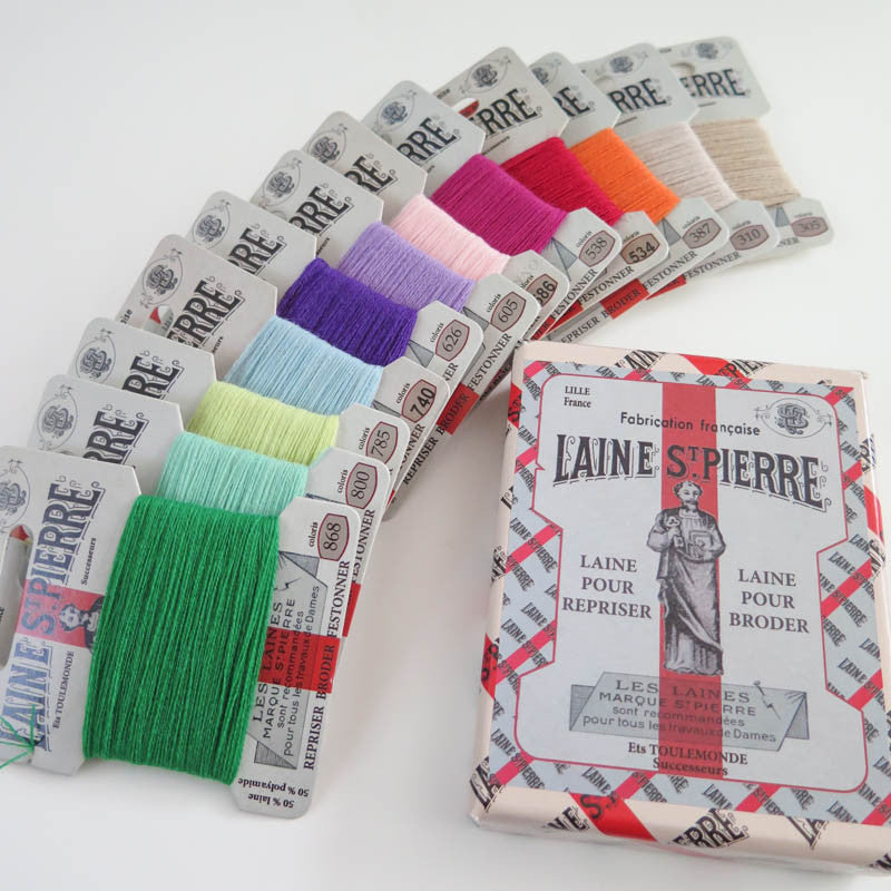 Laine St. Pierre Wool Thread Set - Modern Colors