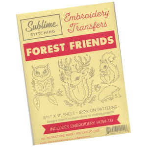 Sublime Stitching Embroidery Pattern :: Forest Friends Patterns - Snuggly Monkey