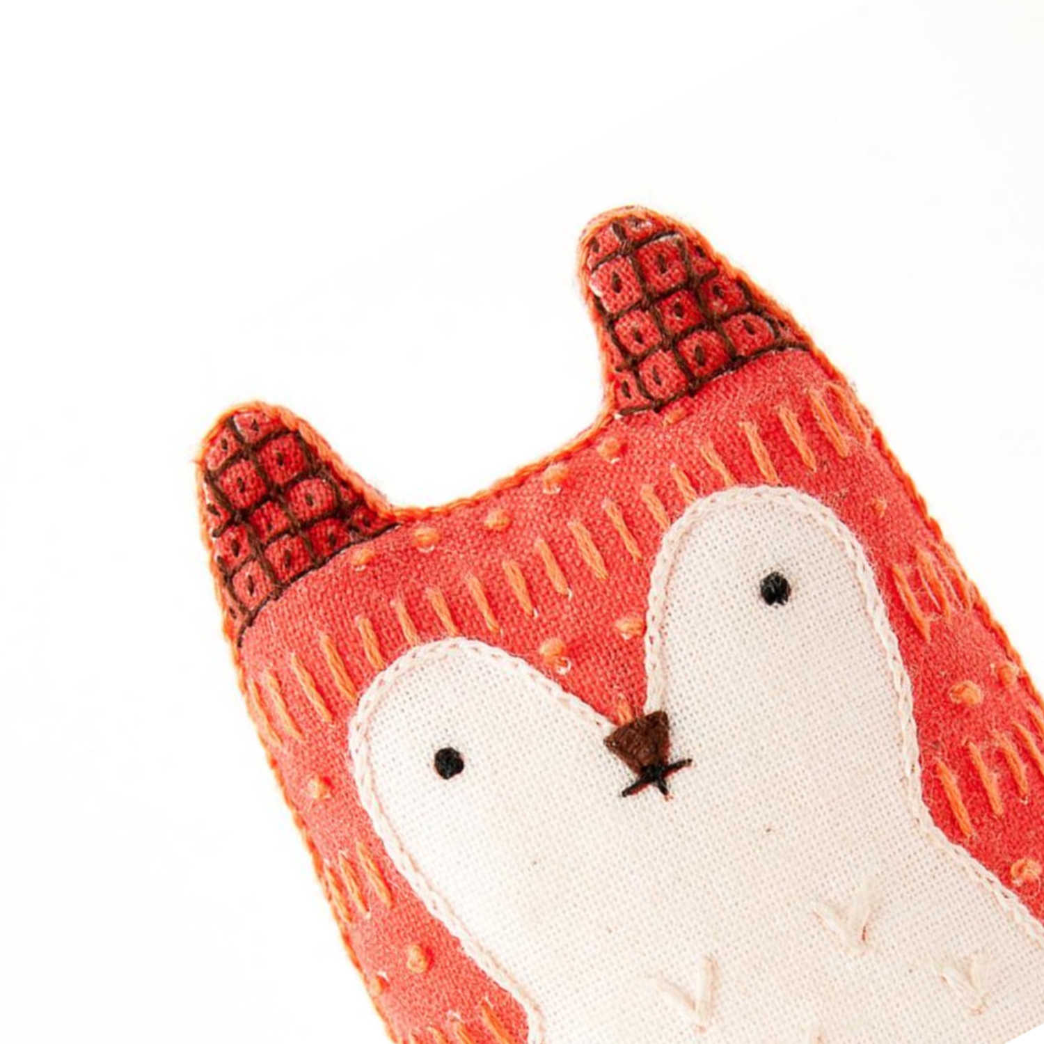 Fox Plushie Embroidery Kit by Kiriki Press Embroidery Kit - Snuggly Monkey