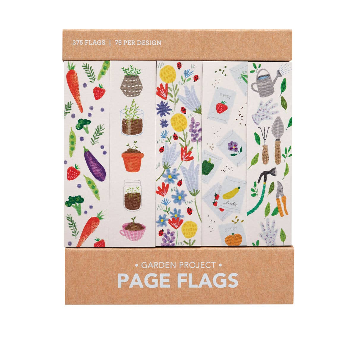 Girl of All Work Page Flags - Garden Project