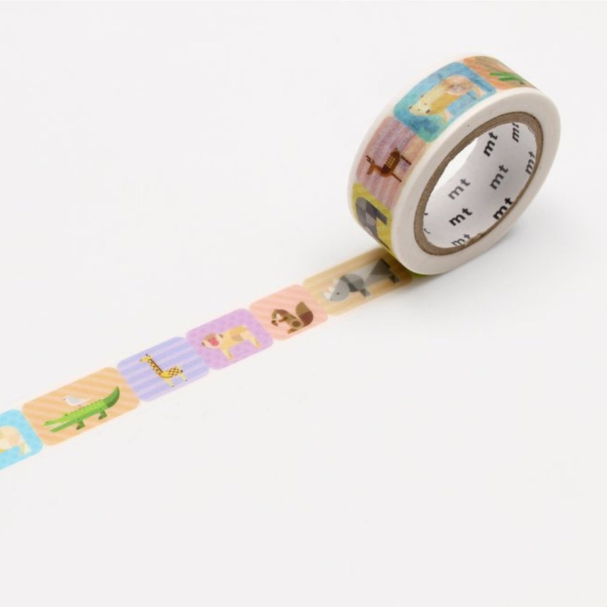 mt Washi Tape - Geometric Animals