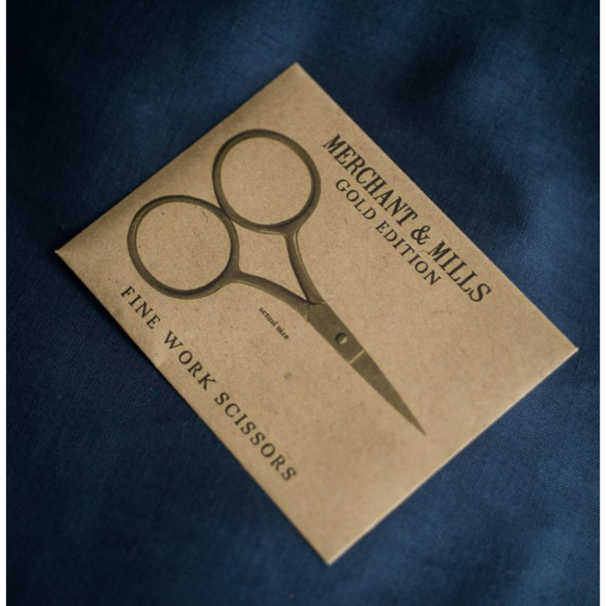Merchant & Mills Fine Work Gold Scissors Scissors - Snuggly Monkey