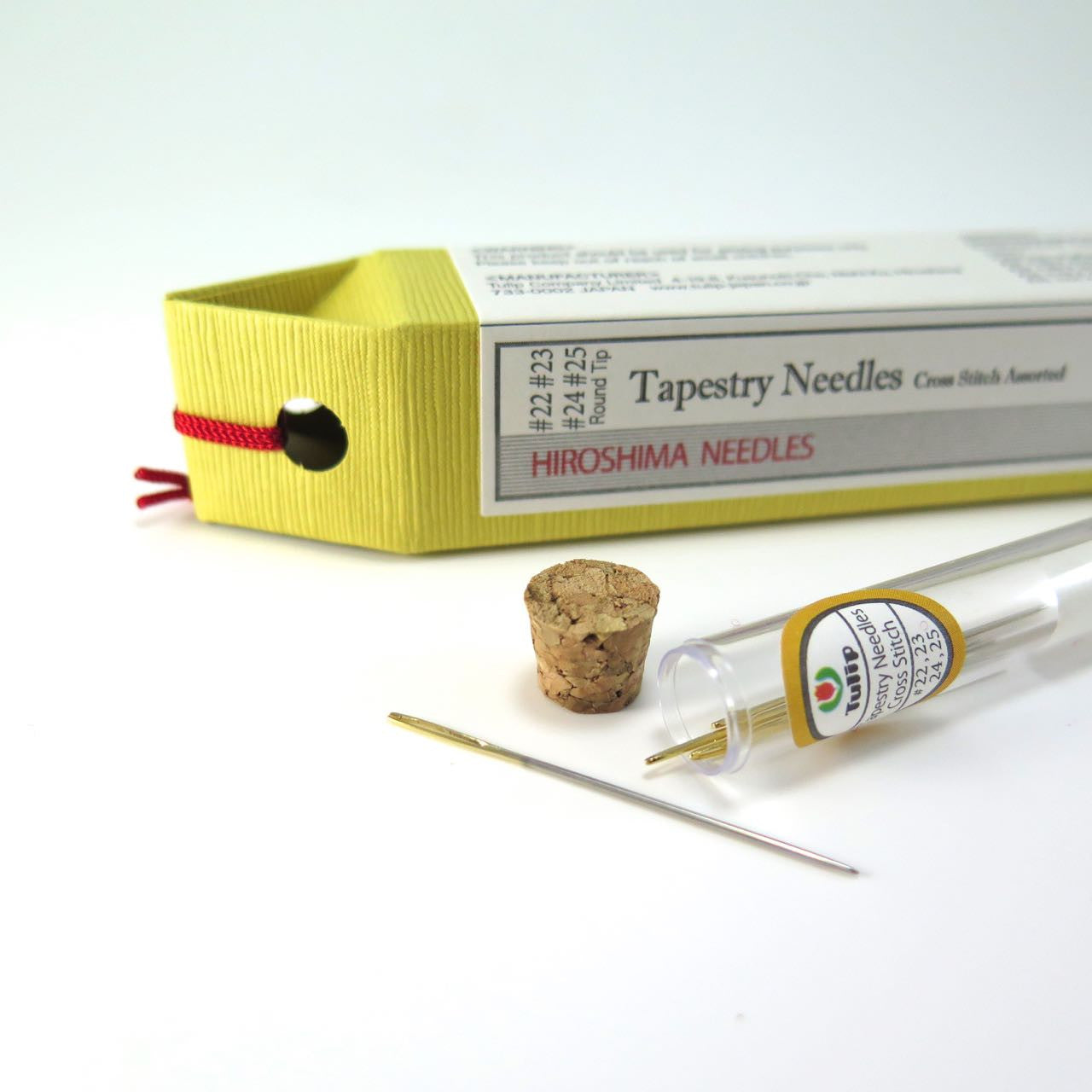 Tulip Hiroshima Cross Stitch Needles - Tapestry Needles Needles - Snuggly Monkey