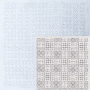 Sashiko Embroidery Kit -Hitomezashi Kiku (#1034)