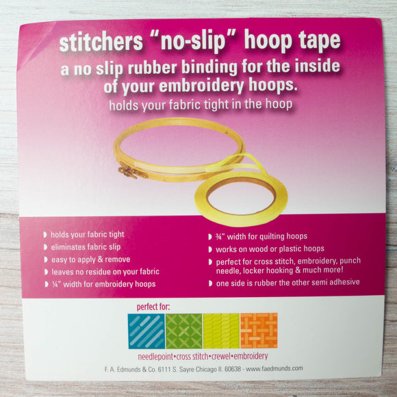 "Embroidery Hoop No-Slip Tape (3/4"")"