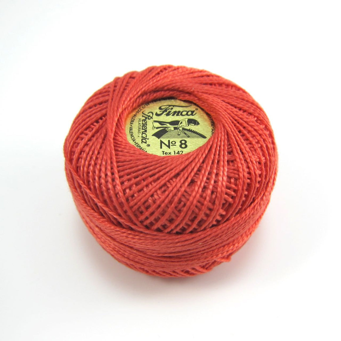 Coral Finca Pearl Cotton Thread (1485) Perle Cotton - Snuggly Monkey