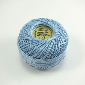 Pale Blue Finca Perle Cotton Thread (3305)