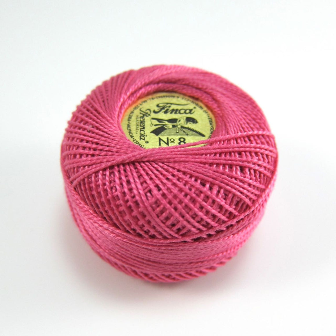 Rose Pink Finca Perle Cotton Thread (1651)