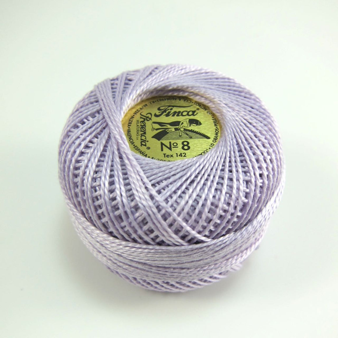 Light Lavender Finca Perle Cotton Thread (2687) Perle Cotton - Snuggly Monkey