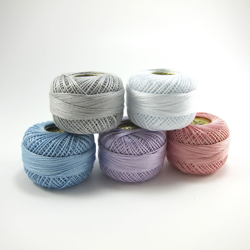 Spring Pearl Cotton Thread Set - Size 8 Presencia Finca Perle Cotton