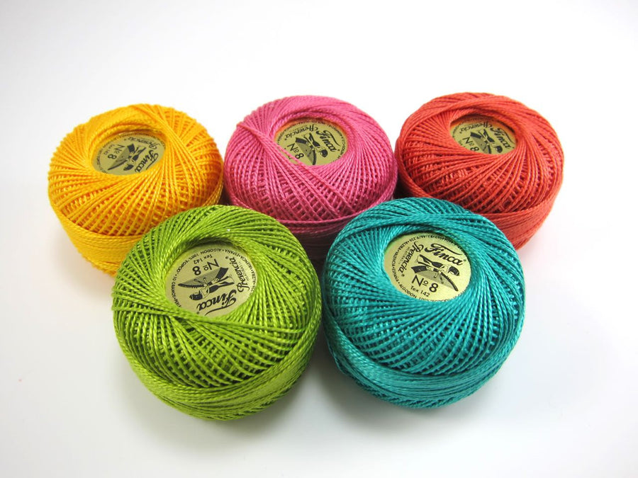 Modern Brights Pearl Cotton Thread Set