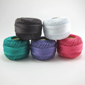 Presencia Finca Perle Cotton Thread Set - Urban Collection