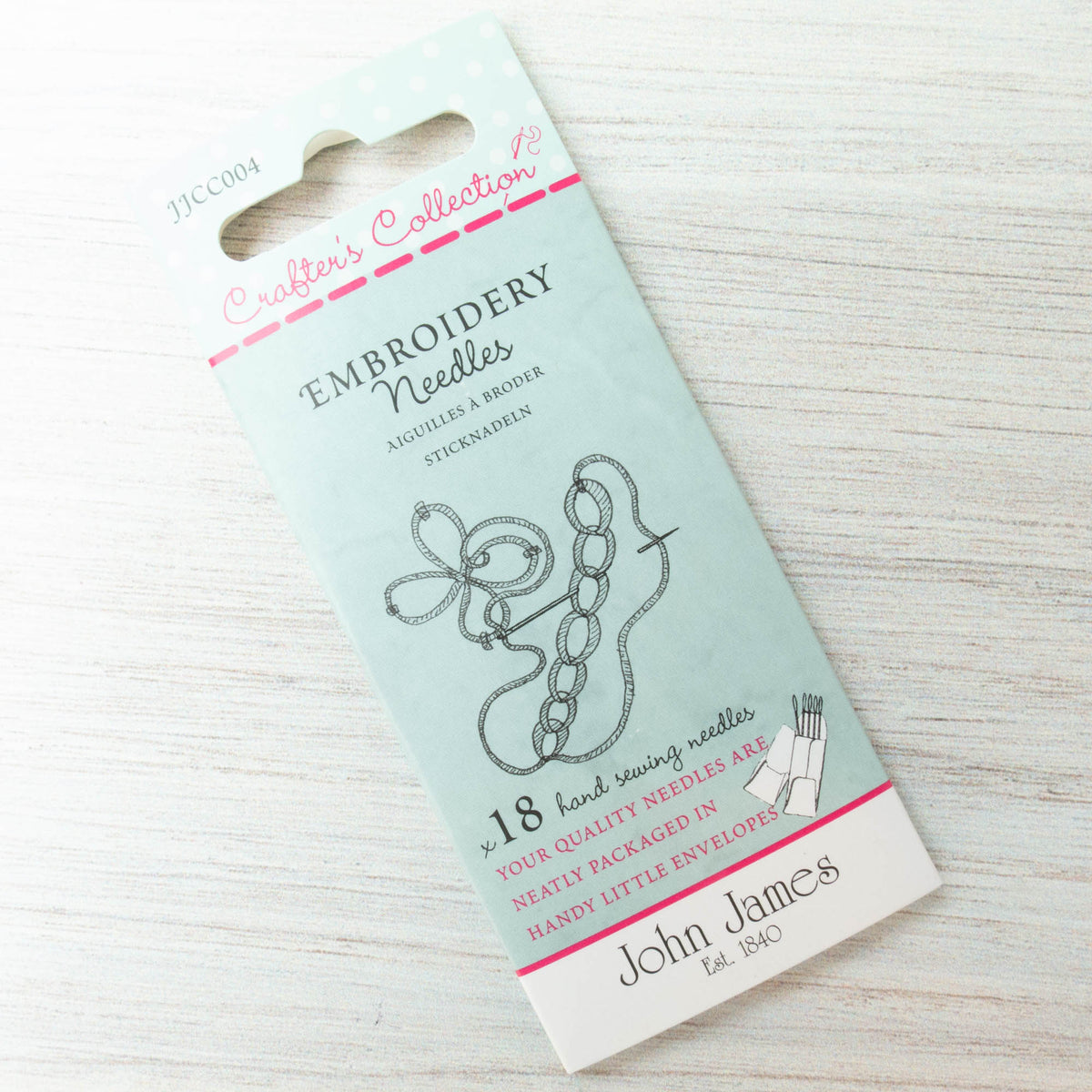 John James Crafters Collection Embroidery Needles