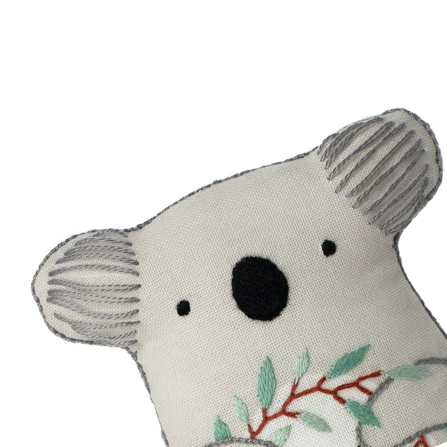 Koala Embroidery Kit by Kiriki Press Embroidery Kit - Snuggly Monkey
