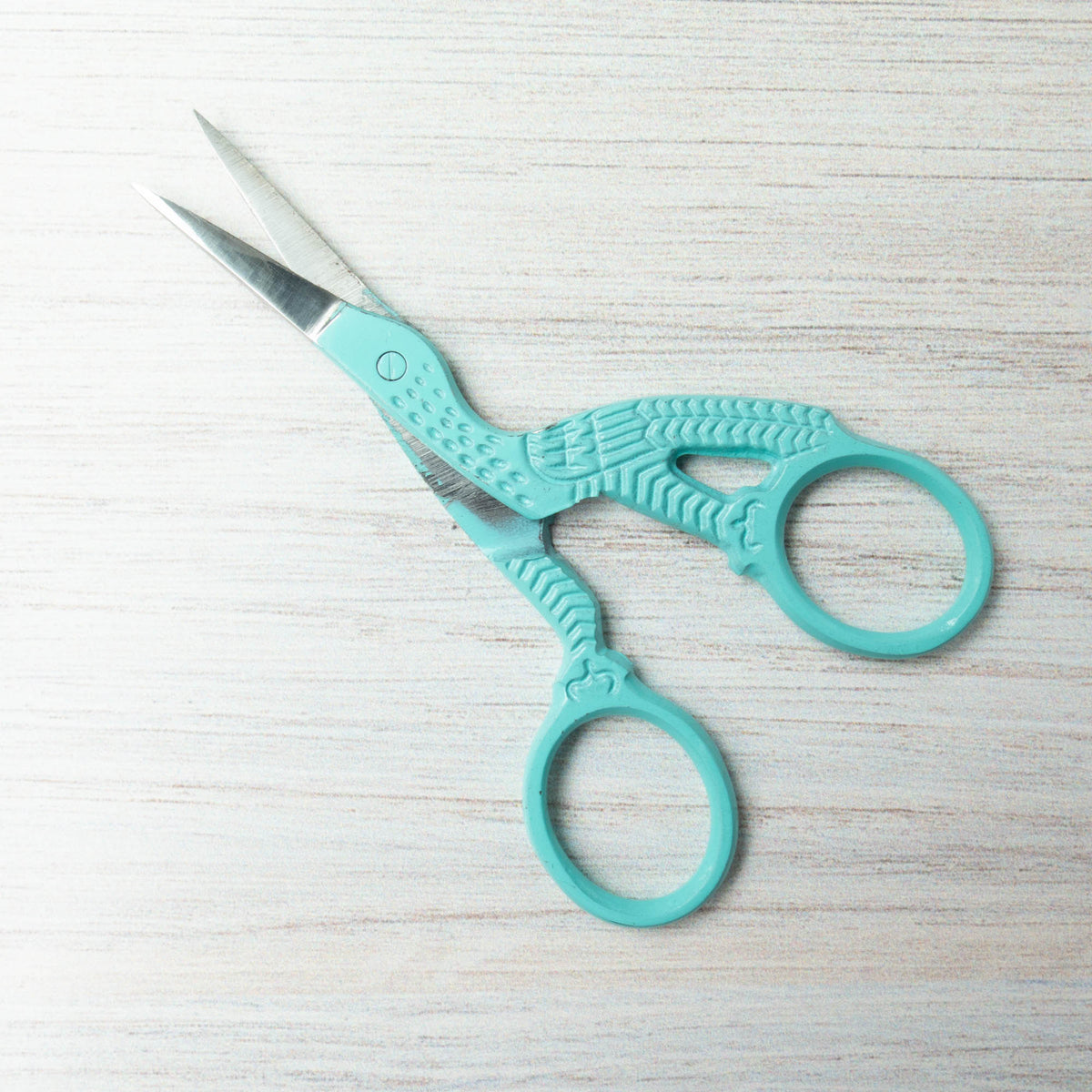 Lori Holt Little Stork Scissors - Mint
