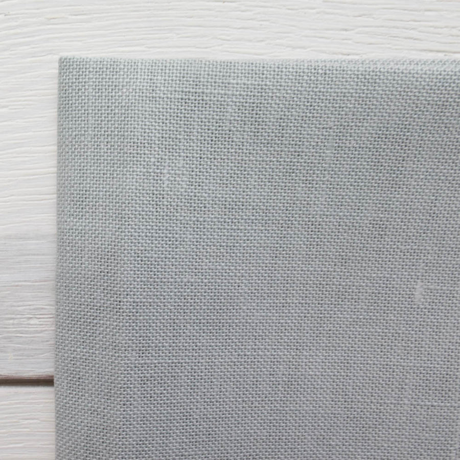 28 ct Cashel Linen - Confederate Gray Fabric - Snuggly Monkey