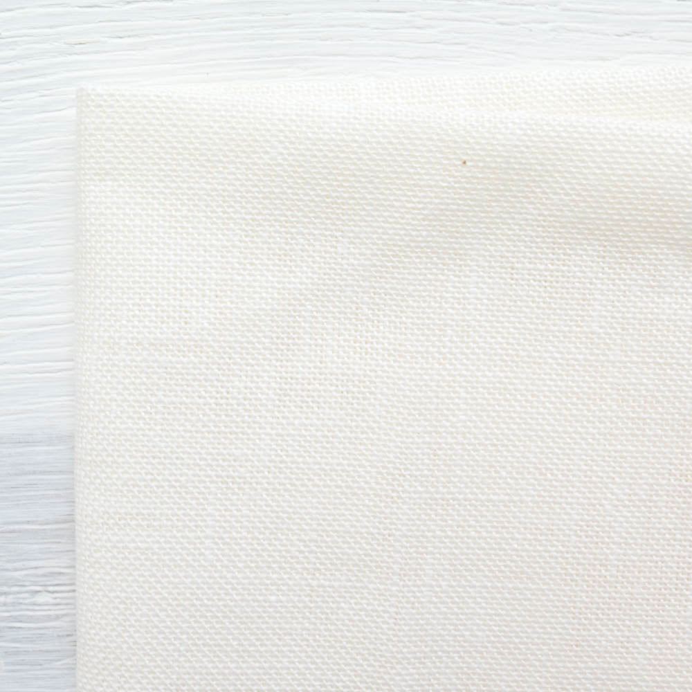 Natural Linen Needlework Embroidery Fabric Cross Stitching Aida Cloth 62 by 1 Yard Rose Flavor