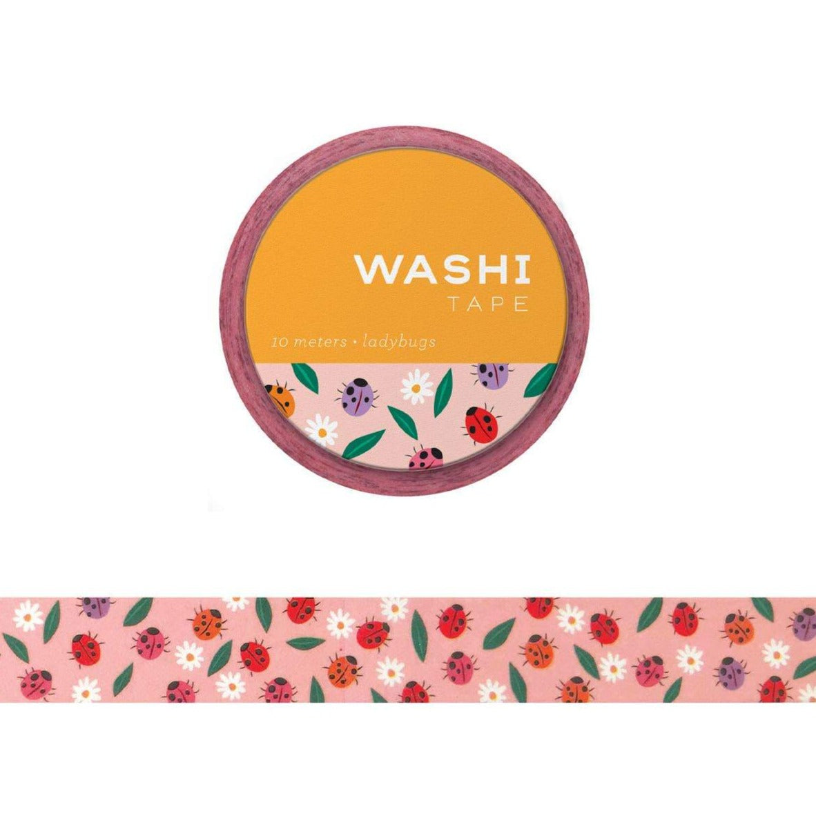 Girl of All Work Washi Tape - Lady Bugs