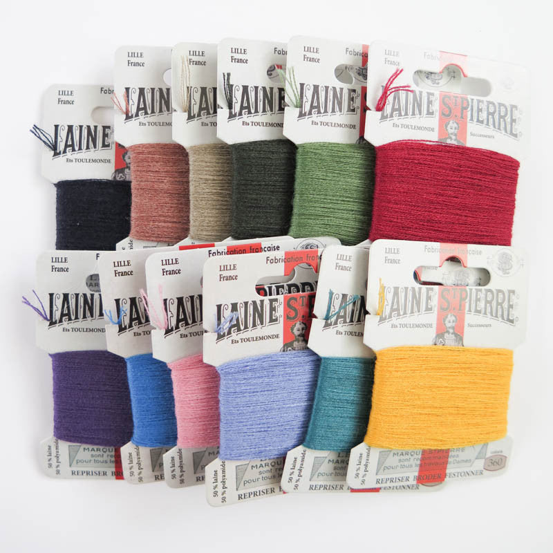 Vintage Colors Laine St. Pierre Wool Thread Set